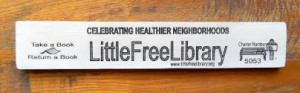 Little Free Library Sign