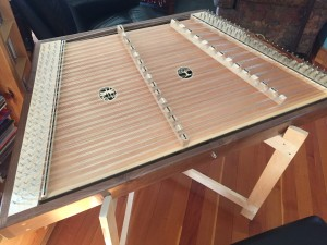 My New Hammer Dulcimer – FINISHED