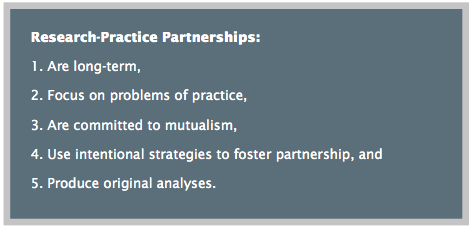 Research–Practice Partnerships in Education