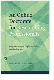 New Book from AUPress – An Online Doctorate for Researching Professionals